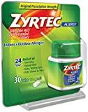 Zyrtec Allergy Tablets, 10 mg, 30 ct