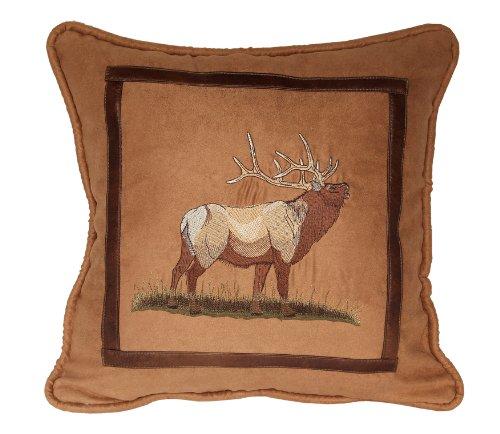Elk Accent - HiEnd Accents Elk Lodge Pillow
