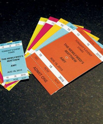 Themed Drink Tickets - Weddingstar 8876-10 Sport Themed Drink Tickets- Small- Black