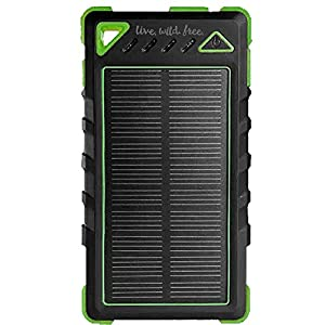 Best-Rugged-8000-mAh-Solar-Charger-by-LiveWildFree-Waterproof-Solar-Power-Bank-Phone-Charger-Portable-Solar-Panel-Great-for-Hiking-Camping-and-Emergency-Power-Supply-Uses-FREE-Sun-Power