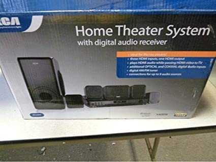 amazon com rca rt2906 600w home theater system other products rh amazon com RCA Home Theater System RCA Speakers