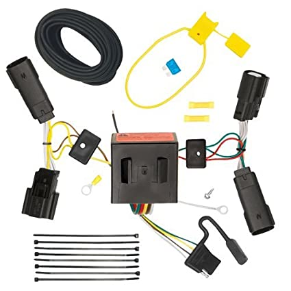 amazon com draw tite t connector hitch wiring kit ford escape 2013 rh amazon com