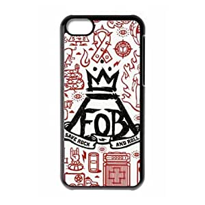 Fall out boy iPhone 5c Cell Phone Case Black xlb-283869