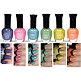 Kleancolor Nail Polish HOLO SET! Lot of 6 Lacquer