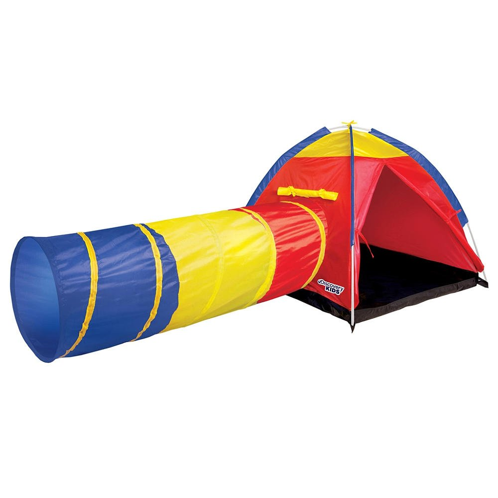 Amazon.com Discover Kids Indoor/Outdoor Adventure Play tent u0026 Tunnel Toys u0026 Games  sc 1 st  Amazon.com & Amazon.com: Discover Kids Indoor/Outdoor Adventure Play tent ...