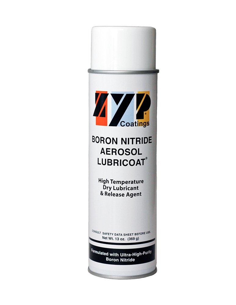 BN Aerosol Lubricoat, 1 can (13 oz. Aerosol can) - Release Agent, High-Temperature Lubricant ZYP Coatings Inc. 3-1047-00-30