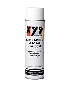 BN Aerosol Lubricoat, 1 can (13 oz. Aerosol can) - Release Agent, High-Temperature Lubricant
