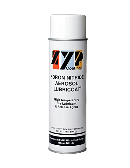 BN Aerosol Lubricoat, 1 can (13 oz  Aerosol can) - Release Agent,  High-Temperature Lubricant