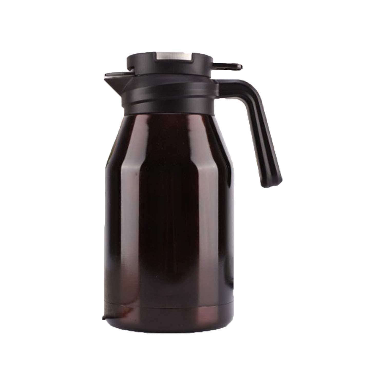 コーヒーポット、ダブルウォームボトル、家庭用温水ボトル、304ステンレススチール、真空断熱贈り物 2.2L  B07KX2YS9Y