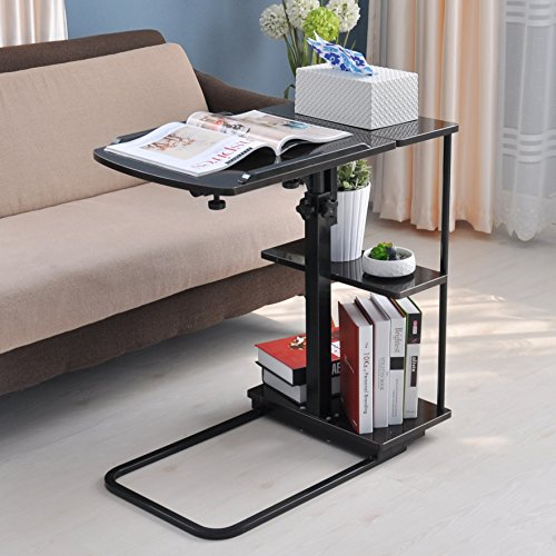 Unicoo multi function height adjustable overbed table for Divan overbed table