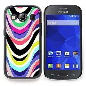 """Planetar ( Lluvia del coche azul metálico Sun Perlado"""" ) Samsung Galaxy Ace Style LTE/ G357 Fundas Cover Cubre Hard Case Cover"""