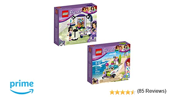 LEGO Friends Emma & Mia 66568 Building Kit Bundle (175 Piece)