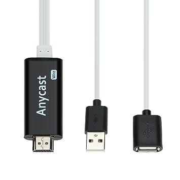 docooler® i7 Anycast Stick de TV TV Dongle HDMI Cable de Alambre ...