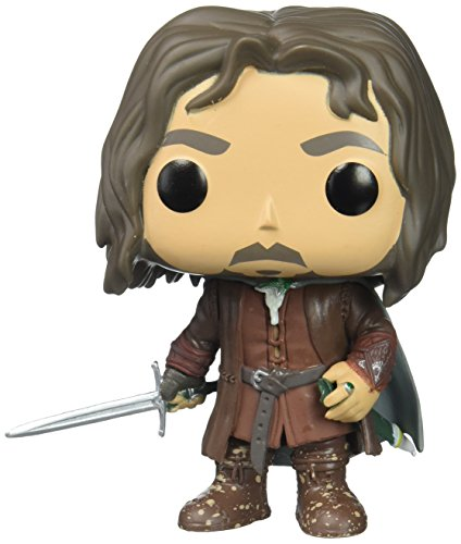 Funko Pop Movies: Lord of the Rings/Hobbit-Aragorn Collectible Figure (Figure Rings Lord)