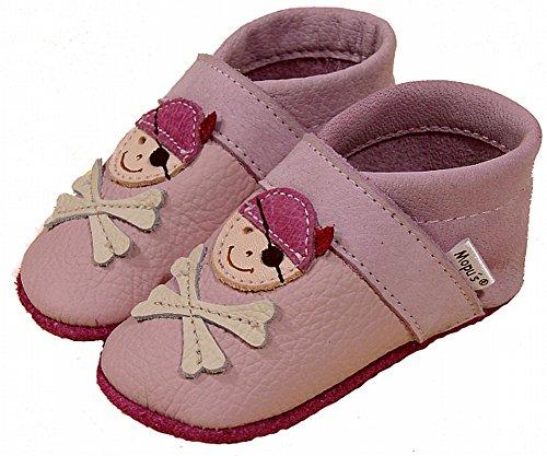 Marca Alemanha Couro Mopu's® Da No Qualidade Rosa Olhar Da Rastejando Pirata Sapatos Puschen Cor Na Artesanal A UawOqax