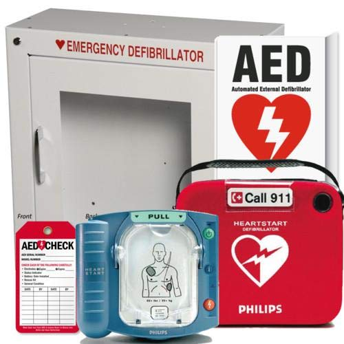 CalMed Onsite AED Defibrillator Business/School/Church Package