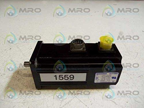 Emerson DXE-316C Servo Motor 0.76 HP .57 KW 240 V 4.0 A 4000 RPM T114178