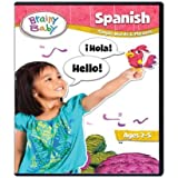Brainy Baby Spanish DVD Simple Words and Phrases Deluxe Edition