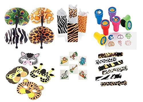 Safari Party Favor Set for 12