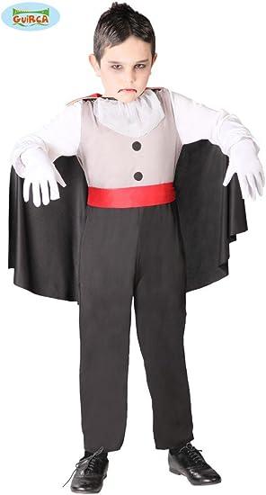 Disfraz de vampiro sediento infantil - 4-6 años: Amazon.es ...