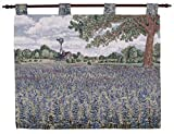 Simply Home Texas Bluebonnets Flower Wall HangingTapestry 27