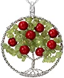 Tomorrow Apple Tree of Life Necklace Mixed Gemstone - Best Reviews Guide