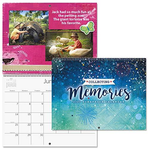 2020 Textures Scrapbooking Calendar- 9