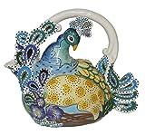 Blue Sky Ceramic Peacock Teapo