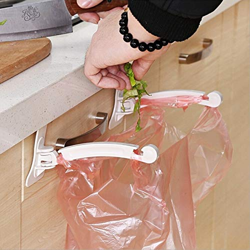 - Plastic Bag Holder Storage - 2pcs 1pack Hanging Cupboard Cabinet Door Tailgate Stand Storage Garbage Bags Hooks Rack Home - Vintage Purses Bamboo Hanging Nickel Hook Commercial Keys Br