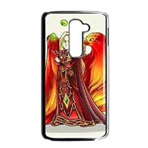 LG G2 Black phone case World of Warcraft Lor'themar Theron WOW8655785