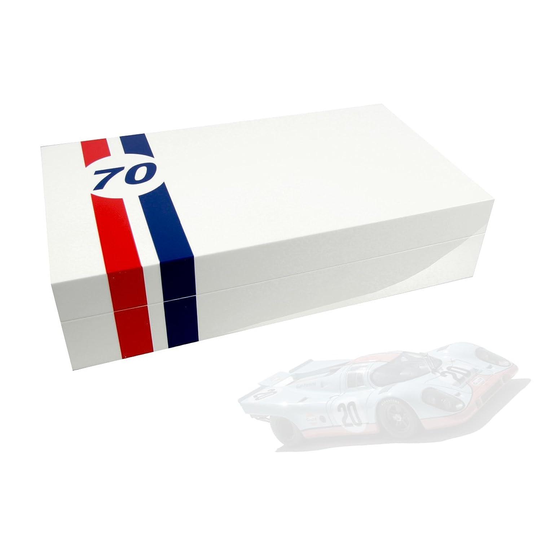 Uhrenbox LeMans 70 fÜr 8 Uhren piano-white