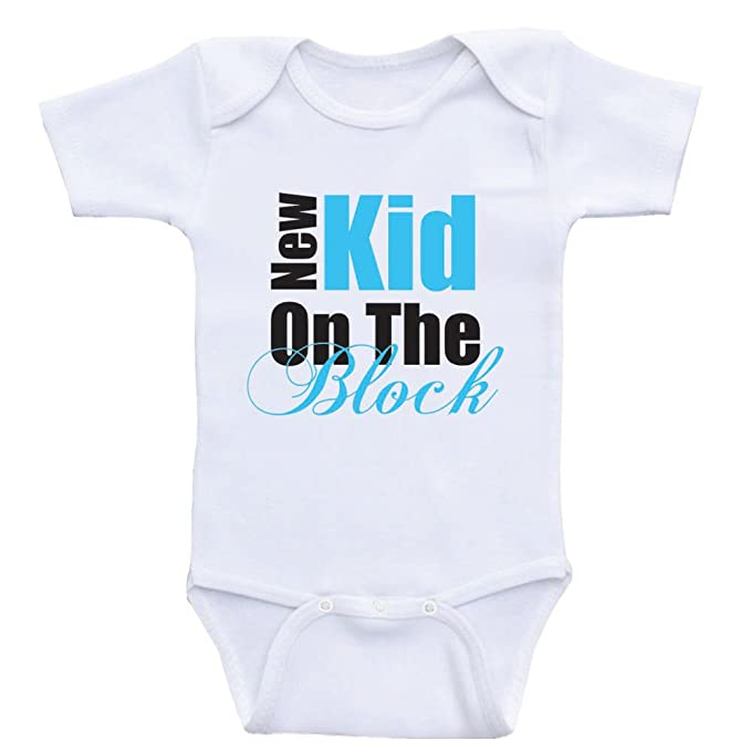 Amazon Funny Baby Shower Gifts New Kid On The Block Funny Baby