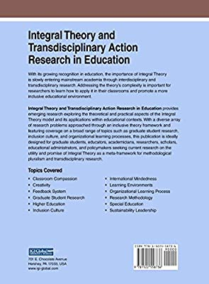 Integral Theory and Transdisciplinary Action Research in