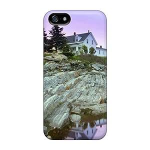 [qQo4129WGIv] - New Pemaquid Point Lighthouse Maine Protective Iphone 5/5s Classic Hardshell Case