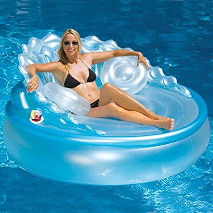 Seashell Sofa Pool Float Lounge