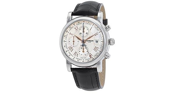 RELOJ MONTBLANC STAR ROMANO CRONÓGRAFO AUTOMÁTICO CARPE DIEM EDICIÓN ESPECIAL 113880: Amazon.es: Relojes