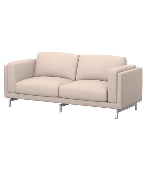 Soferia - IKEA NOCKEBY Funda para sofá de 2 plazas, Eco ...