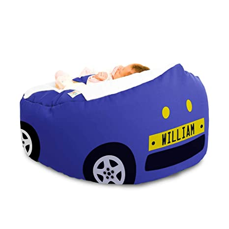 Brilliant Gaga Cuddlesoft Pre Filled Baby Bean Bag With Safety Harness Gamerscity Chair Design For Home Gamerscityorg