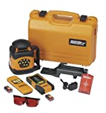 JOHNSON Pro 40-6522 Automatic-Leveling Rotary Laser Level with Integral Vertical Mount