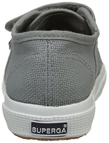 Superga Unisex-Kinder 2750 JVEL Classic Sneaker Grau (M38 Grey Sage)