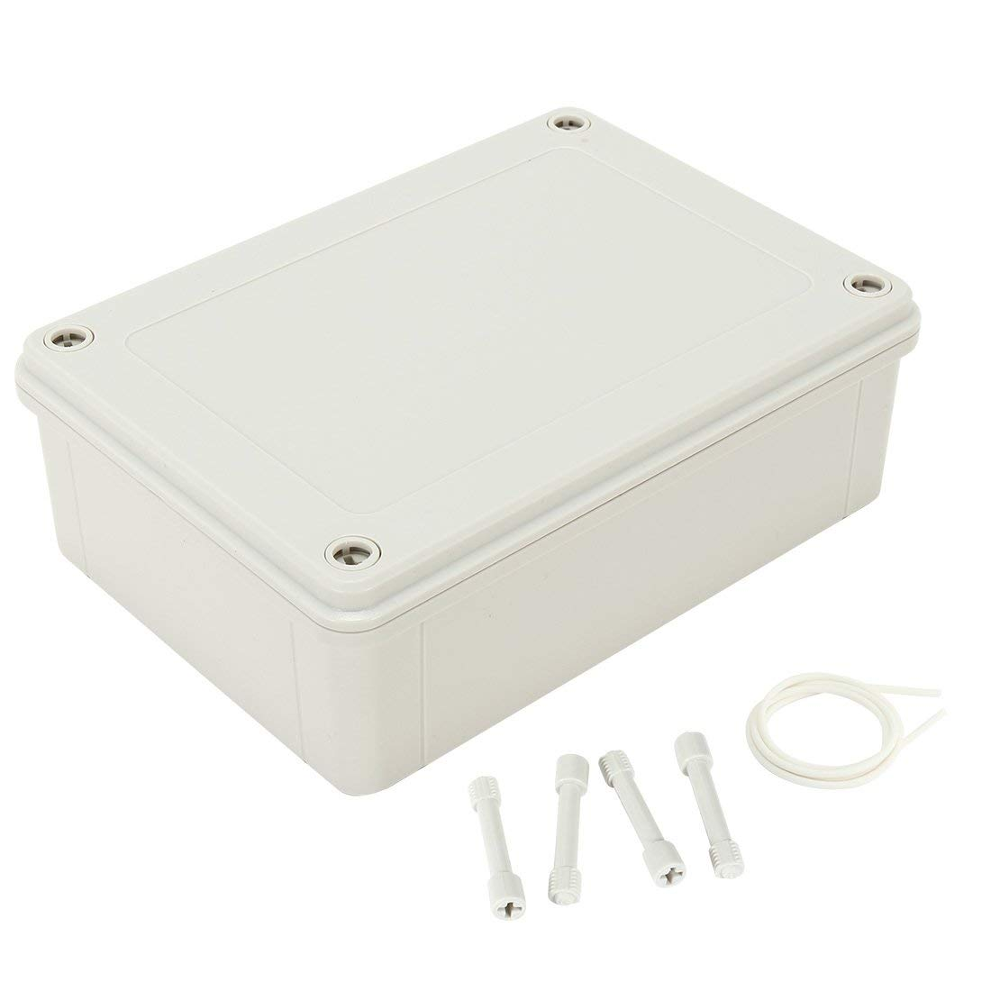 sourcingmap 7.1x5.12x2.3 180mmx130mmx60mm ABS Dustproof IP65 Junction Box Universal Electric Project Enclosure