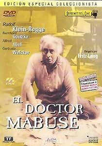 El Doctor Mabuse (Edición Especial Coleccionista) [DVD]