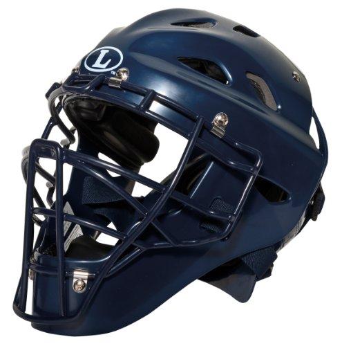 Louisville Slugger Youth TPX Intermediate Catcher's Helmet, Navy