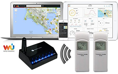Ambient Weather WS-0800-IP Observer Base Wireless Internet Remote Monitoring Weather Station