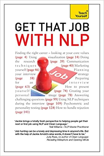 Get That Job With NLP From Application And Cover Letter To Interview Negotiation Teach Yourself Amazonde Jackie Arnold Fremdsprachige Bucher