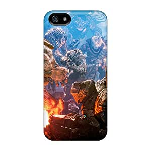 Iphone 5/5s Case, Premium Protective Case With Awesome Look - Gears Of War 3 Battle
