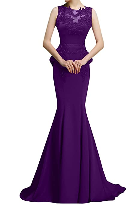 Victory Bridal Dreamy Dark Red Head Mermaid Long Evening Dress Prom Dress Party Dress Train,