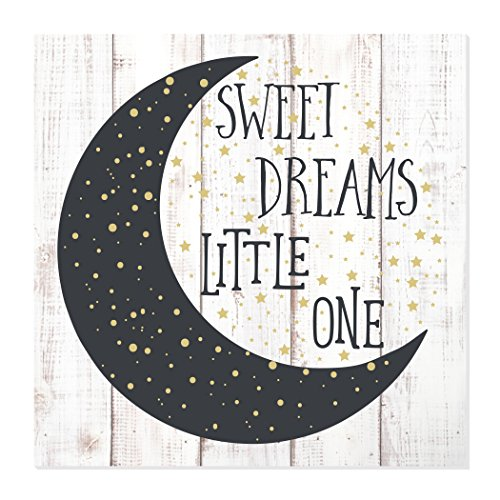 Sweet Dreams Little One Rustic Wood Wall Sign 12x12
