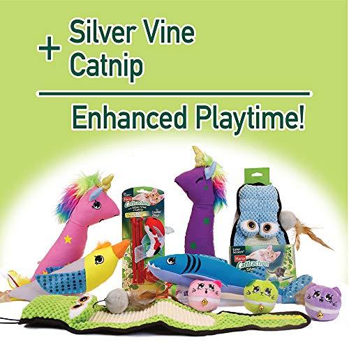 Hartz Cattraction Silver Vine & Catnip Cat Toys 5