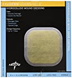 Medline MSC5588 Exuderm Odorshield Hydrocolloid, 8'' x 8'' (Pack of 5)